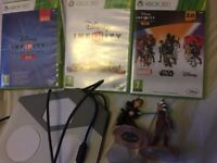 All 3 Disney infinity games for Xbox 360
