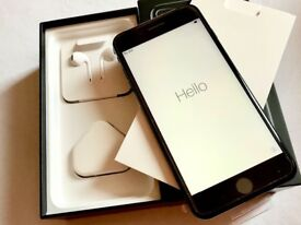 iPhone 7 Plus 128GB JET Black brand new in box Factory Unlocked Sim-free warranty proof of receipt