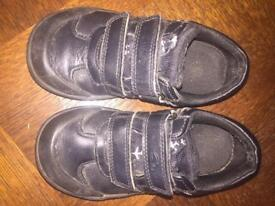 Boys Clark school shoes