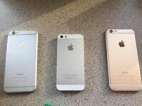 iPhones spares or repairs x3