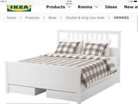 Wooden bed brand new