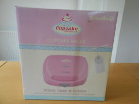 Breville Cupcake Creations VTP100 Cupcake Baker. BRAND NEW in box. RRP £39.95. Ideal present