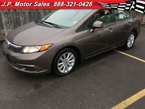 2012 Honda Civic EX-L, Automatic, Navigation, Sunroof, 37,000km