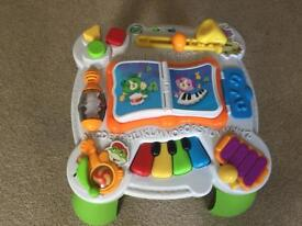Musical activity table by Leapfrog