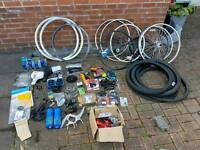 Job Lots Bike Parts. Mostly New. Bulk buy.