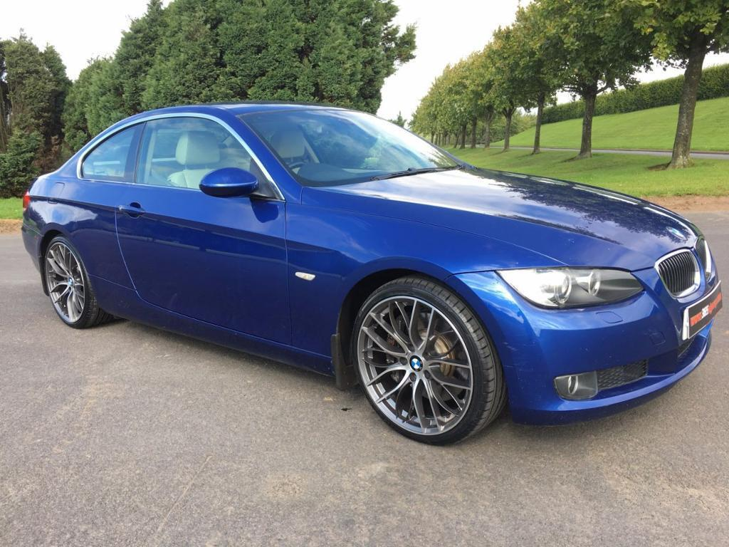 bmw 3 series 3 0 330d se 2d auto 228 bhp lemans blue with dakot blue 2007 in newtownabbey. Black Bedroom Furniture Sets. Home Design Ideas