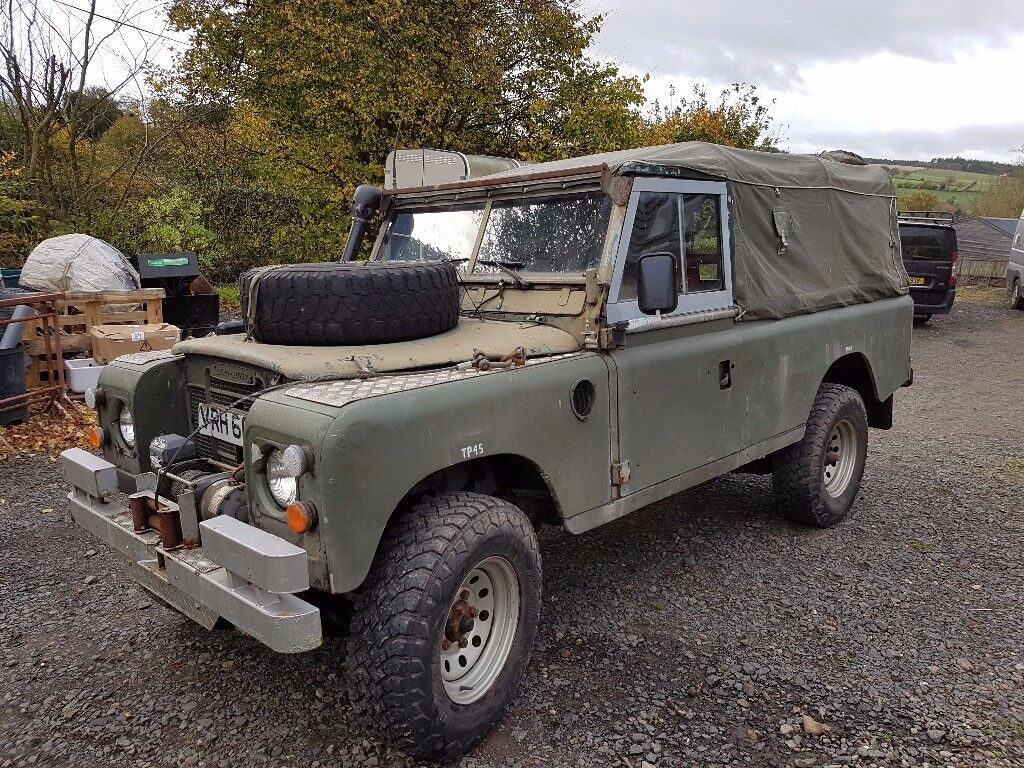 land rover 109 ex mod police in jedburgh scottish. Black Bedroom Furniture Sets. Home Design Ideas