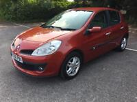 Renault clio 1.6 vvti automatic- 2007 petrol-5 dr hatcback- hpi clear part exchange welcome