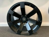 """20"""" x 9 Hawke Summit alloy wheels and tyres (6x139) Suitable for most Ford Ranger models"""