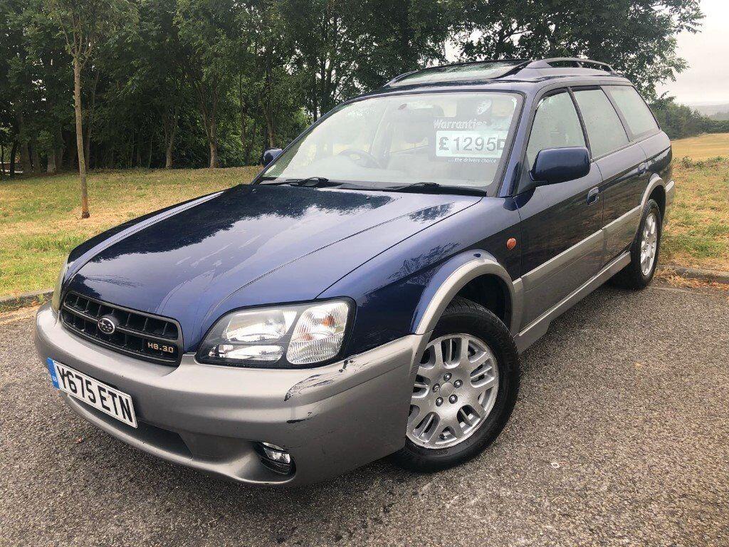 2001 subaru legacy outback h6 auto
