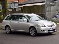 TOYOTA AVENSIS 2.2 D4D ESTATE 2008 FULL SERVICE HISTORY HPI CLEAR STARTS AND DRIVES PERFECT MAY P/X