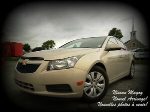 2012 Chevrolet Cruze LT TURBO + AUCUN ACCIDENT + BAS KILO +  A/C