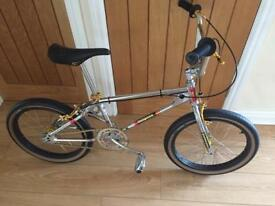 Old school mongoose bmx 1982