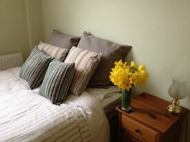 2 furnished kingsize ensuite bedrooms in homely Regency flat, available end Dec.