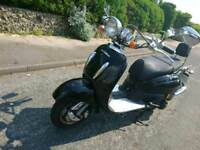 Retro motor scooter