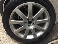 Audi Alloys alloy wheels x 2