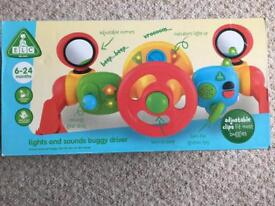 ELC lights and sounds buggy driver brand New In box