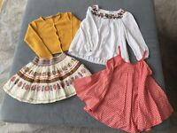 M&S Girls Summer Clothes Age 6-7 & 9