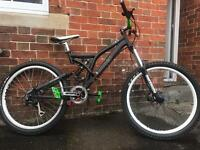 Norco six one full suspension mountain bike will post