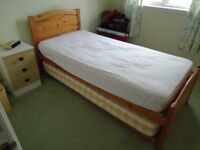 Single Divan Bed & Guest Pull-Out Bed