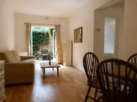 One bed garden flat, Fulham, SW6