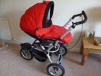 Jane Powertrack 360 travel system with Matrix car seat