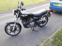 Classic 1982 Kawasaki Z650. 12 Months MOT