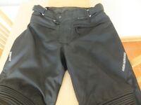 Mens Hein Gericke Goretex Motorcycle Trousers