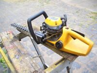 Hedge trimmer for sale. Petrol JCB twelve years old unused for the last five due to health