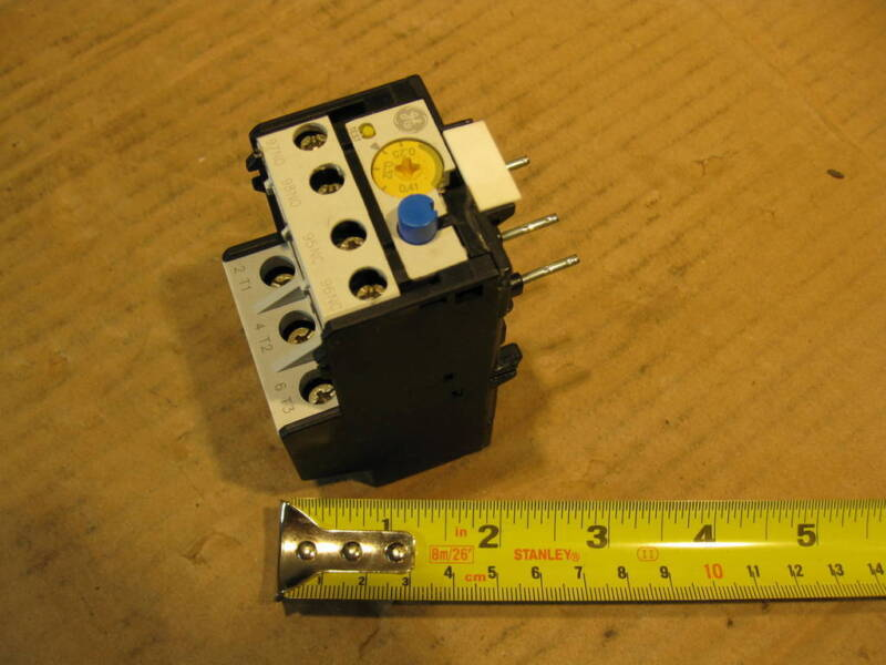 General Electric RTN1C Thermal Overload Relay 0.25-0.41 A