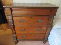 Very large chest of drawers (4 drawer) in need of some tlc