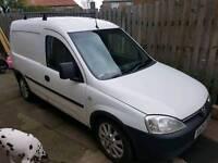 Vauxhall combo 2004