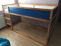Ikea Kura bunk bed