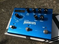 Strymon Mobius. Chorus, flanger, vibe, phaser 'and much more' pedal, w/expression pedal..