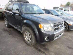 2008 Ford Escape Limited 4WD Leather Sunroof