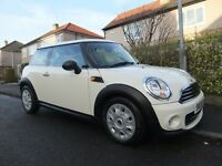 2013 '13 REG' MINI FIRST 1.6 LITRE 3 DOOR +++VERY LOW MILEAGE OF ONLY 15,789 MILES & LONG MOT+++