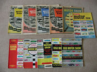 Motor Show Magazine (Daily Express and Daily Mail) Collection (Very Large) plus Spares