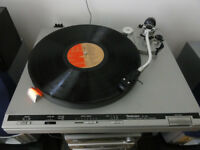 Technics SL-B3 Belt Drive Turntable Made In Japan-Sounds Superb Recently New Belt and Stylus