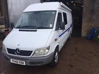 Camper Van, Mercedes Sprinter 903 311