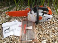 BRAND NEW 2018 stihl ms201 tc top handle chainsaw never used! LOOK!!!