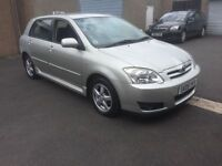 2005 TOYOTA COROLLA COLOUR COLLECTION FULL SERVICE HISTORY 1 OWNER PX WELCOME £1295