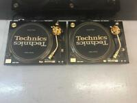TECHNICS 1200 GLD LIMITED EDITION MINT