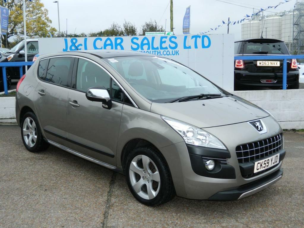 PEUGEOT 3008 1.6 EXCLUSIVE HDI 5d 110 BHP A GREAT EXAMPLE INSID (grey) 2009
