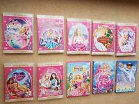 Barbie DVD Classic Movies & Princess Charm School + The Pearl Princess + Dora saves a Snow Princess