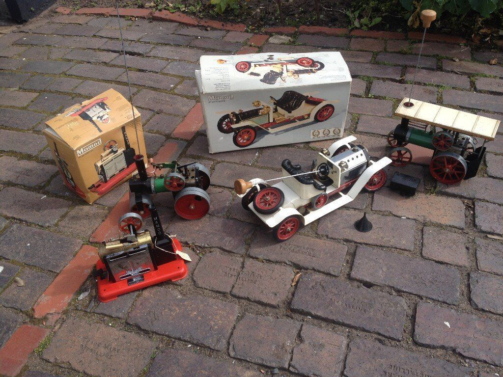 Mamod Steam Models For Sale Steam Car Boxed Steam Engine Boxed