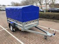 Brand new Faro Tractus 2,36cm car box trailer 750kg with 110 cm cover