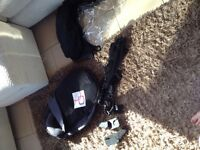 Quinny Moodd travel system black good condition