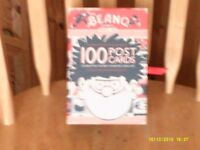 BEANO COMIC POSTCARDS. BOXED SET OF 100. MINT CONDITION.
