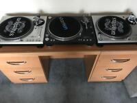 3 x Stanton Turntables for sales