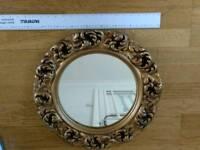 Ornate vintage mirror